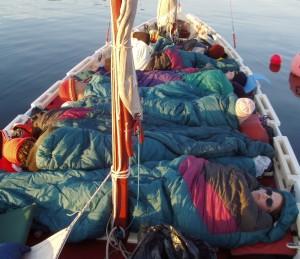 Sleeping on the Oars